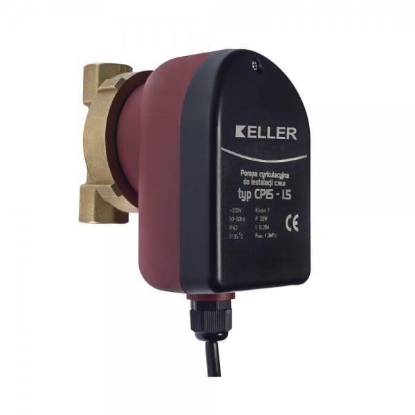 Pompa cyrkulacyjna c.w.u. KELLER CP 15-1.5